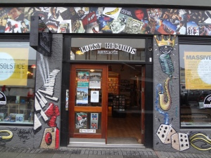 Lucky Records Music Shop.