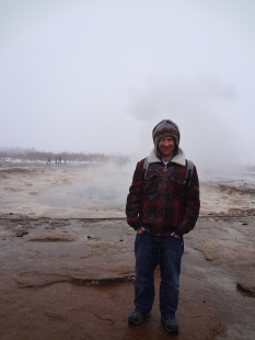 Me and the Geysir