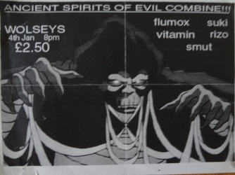 Ancient Spirits of Evil - Wolseys Gig - Smut.