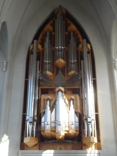 Organ inside Hallgrímskirkj - 5275 Pipes