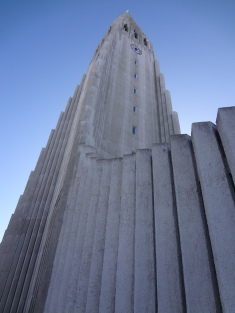 The Architecture looks similar to the basalt rocks formed at Svartifoss.