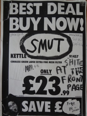 Smut, The Dangerfields, Suki Gig The Front Page.