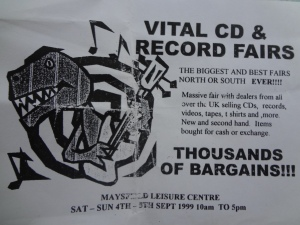 Vital CD and Record Fair in Maysfield Leisure Centre
