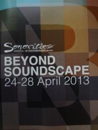 Beyond Soundscape.
