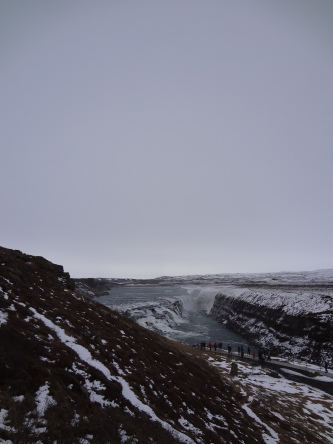 Half Sky and Half Gullfoss