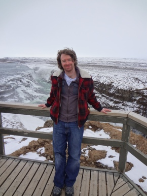 Bib Higher bit at Gullfoss Waterfalls