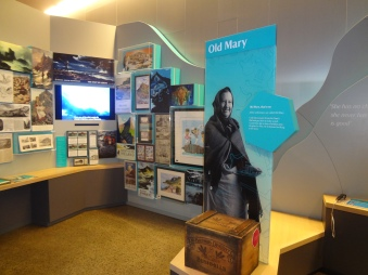 Inside the Visitor Centre, Interactive Media.