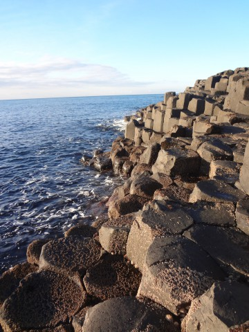 Giants Causeway Waves picture