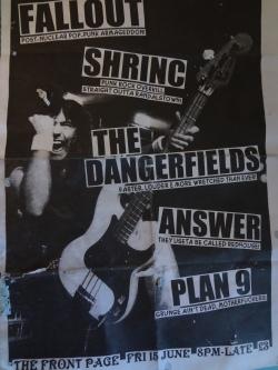 Old local Belfast gig flyer