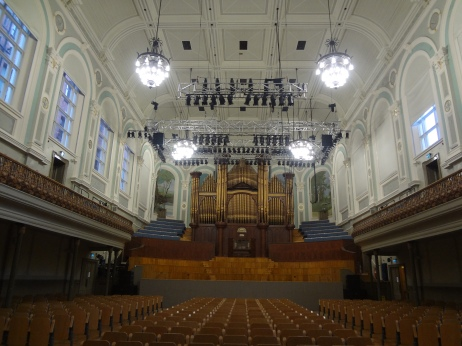 The Ulster Hall.