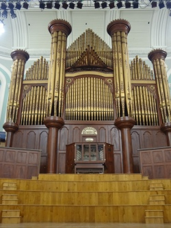 The Mulholland Grand Pipe Organ.