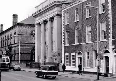 Victoria Hall in the 1980s
