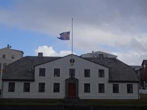 Stjórnarráðið, the Cabinet of Iceland, the government.