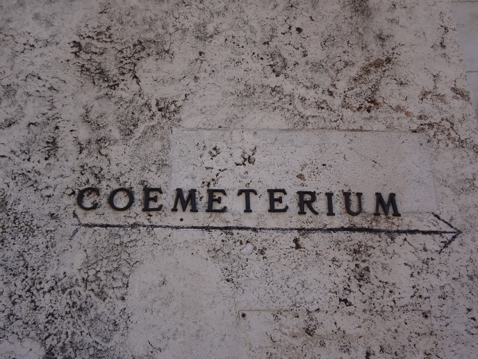 Latin for Cemetery