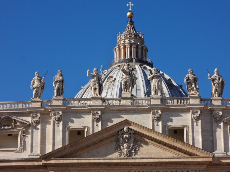 Top of St. Peter's Basilica