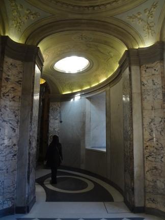 Walking corridors through St. Peter's...