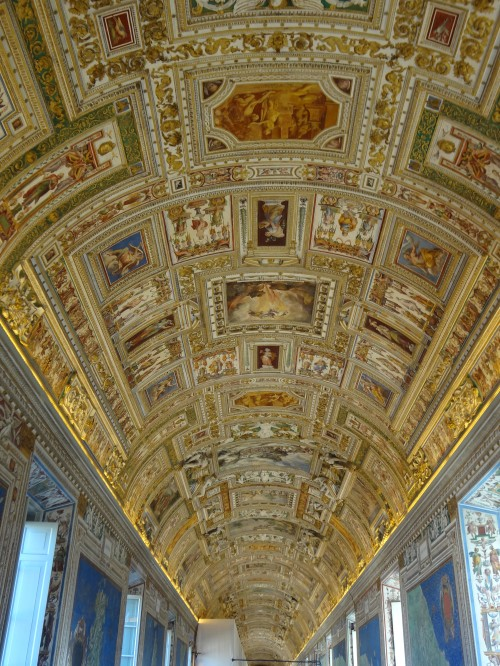 En route to the Sistine Chapel...