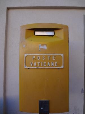 Poste Vaticane, send a postcard home to Mum.