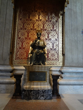 Statue of Saint Peter.