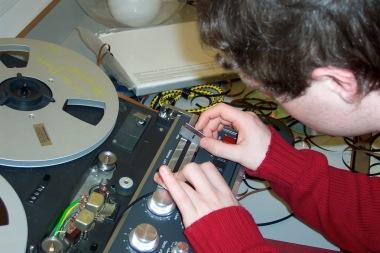 Tape splicing...