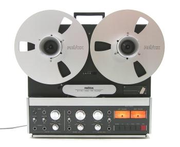 Revox B77 - Reel to Reel tape recorder.