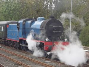 Steam-Locomotive 'Merlin' 1