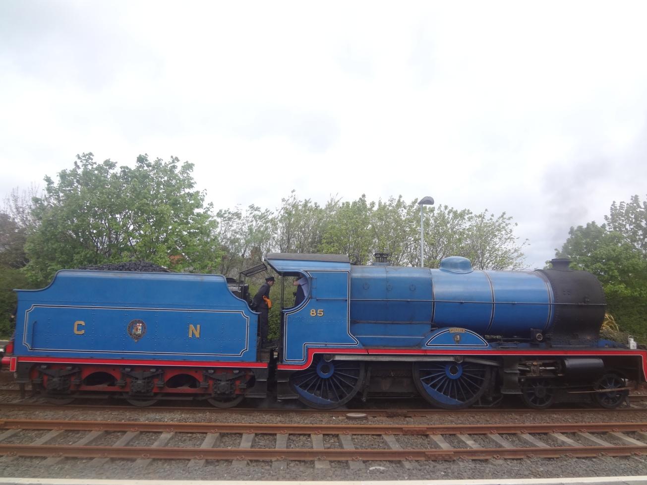 Steam-Locomotive 'Merlin' 4