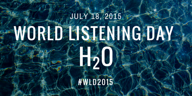 World Listening Day H20