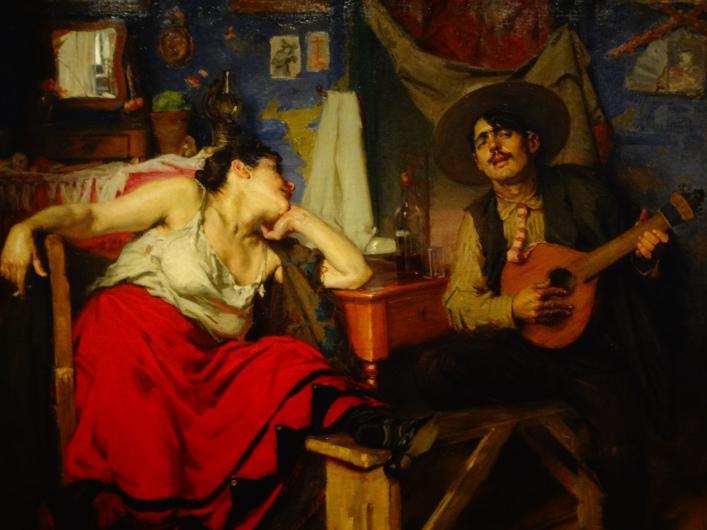 Fado, painting by José Malhoa (1910).