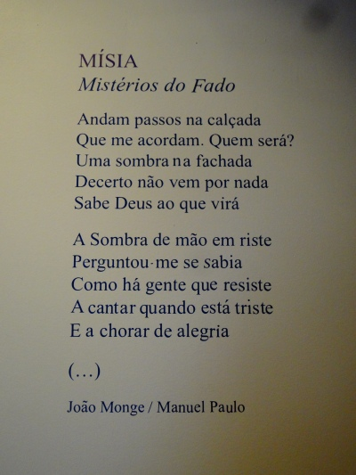 Misia (Misterios Do Fado) by Manuel Paulo / João Monge.