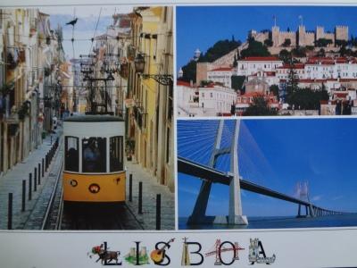 Postcard of Lisboa.