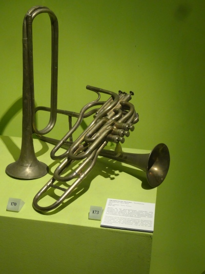 Trompete de Pistoes, Adolphe Sax, 1866, Paris, FRANCE.