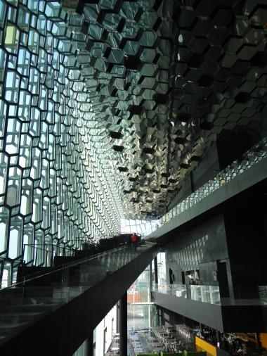 Inside Harpa Concert Hall