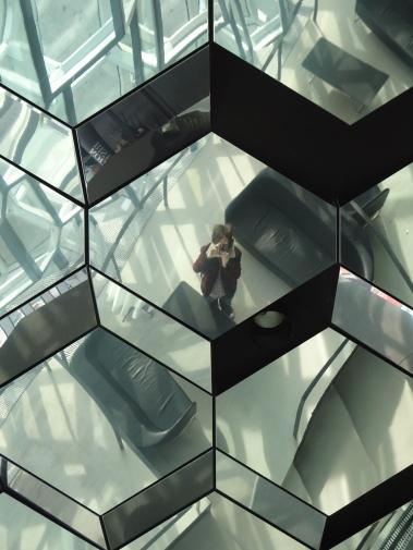 Mirror Windows on Roof Tops