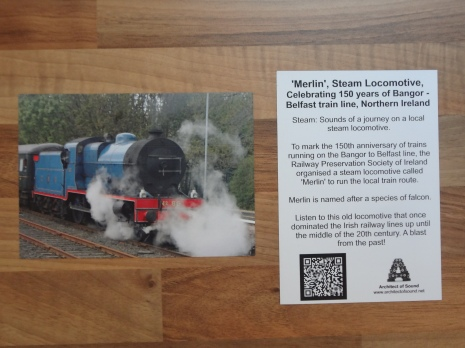 AOS Sound Card (Merlin the Steam Locomotive)
