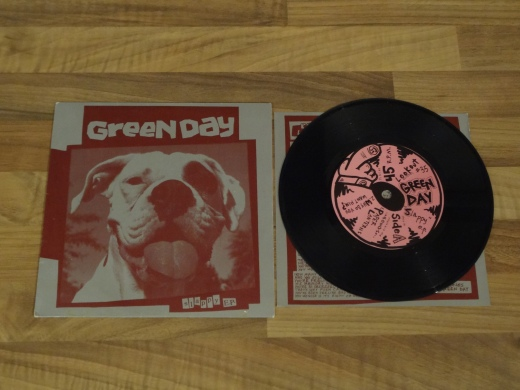 Green Day - Slappy EP 7 Inch Vinyl Record.