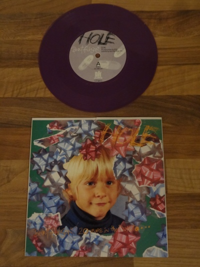 Hole - Beautiful Son Purple 7 Inch Vinyl.