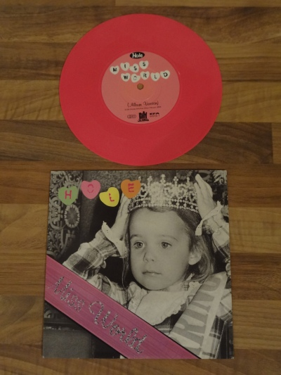 Hole - Miss World Pink 7 Inch Vinyl.