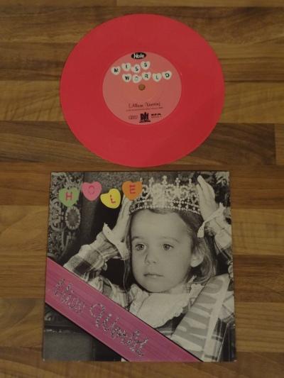 Hole - Miss World Pink 7 Inch Vinyl.