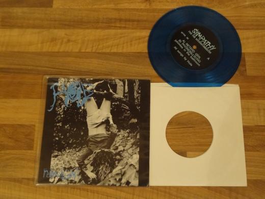 Hole - Retard Girl Blue 7 Inch Vinyl