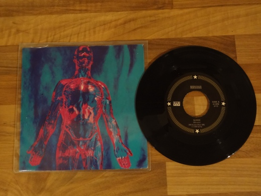 Nirvana - Rare Sliver 7 Inch Vinyl