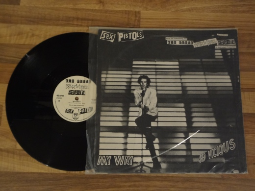 Sex Pistols - My Way Vinyl by Sid Vicious.