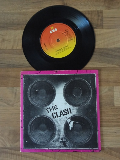 The Clash - Complete Control 7 Inch Vinyl Record.