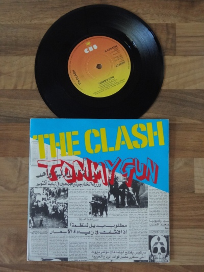 The Clash - Tommy Gun 7 Inch Vinyl Record.