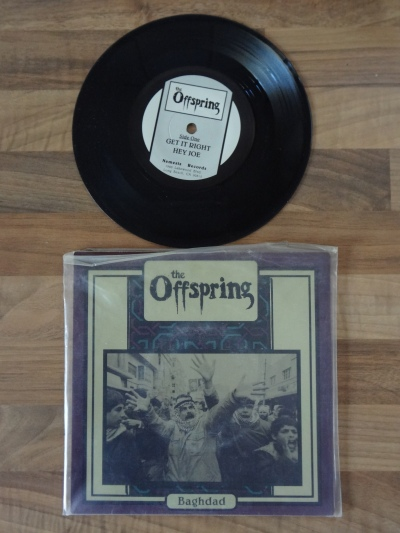 The Offspring - Bagdad 7 Inch Vinyl Record