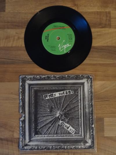 The Sex Pistols, Pretty Vacant 7 Inch Vinyl Record