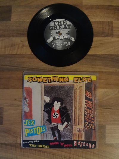 The Sex Pistols, Something Else by Sid Vicious 7 Inch Vinyl Record.