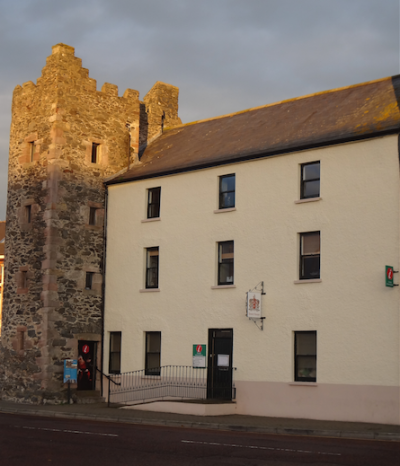 The North Down Bangor Tower House is located at 34 Quay street, Bangor, N.Ireland.