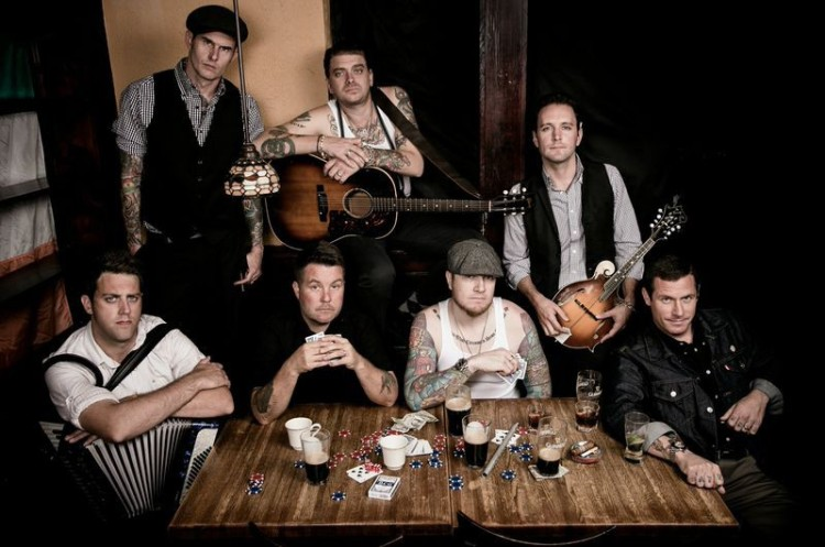 The Dropkick Murphys - American Celtic punk band formed in Quincy, Massachusetts.
