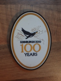 Edinburgh Zoo Magnet